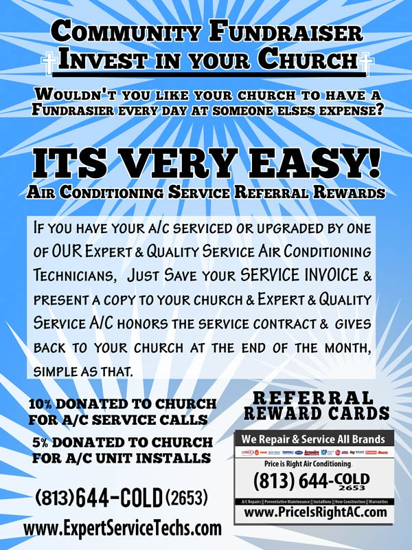 Tampa Air Conditioning Customer referral rewards