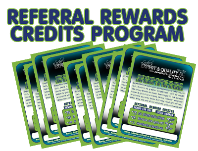 Air Conditioning Customer referral rewards