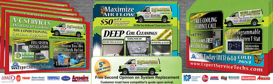 Air Conditioning Repair Coupon Deals In Tampa FL